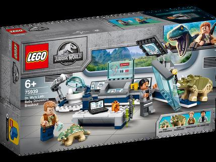 LEGO® Dr. Wus Labor: Ausbruch der Baby-Dinosaurier 75939