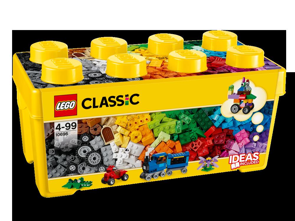 LEGO® Mittelgroße Bausteine-Box 10696