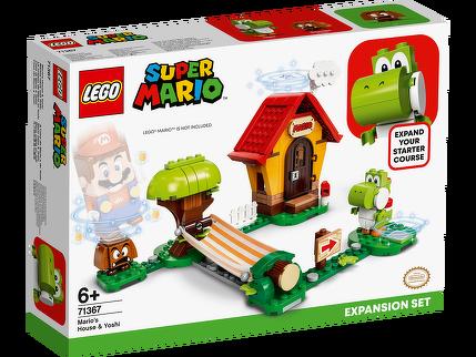 LEGO® Marios Haus und Yoshi – Erweiterungsset 71367