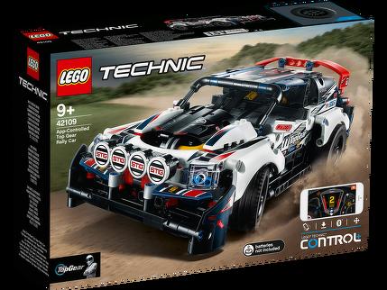 LEGO® Top-Gear Rallyeauto mit App-Steuerung 42109