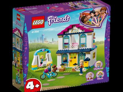 LEGO® 4+ – Stephanies Familienhaus 41398