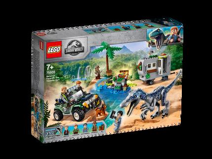 LEGO® Baryonyx' Kräftemessen: die Schatzsuche 75935