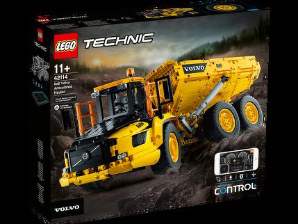 LEGO® Knickgelenkter Volvo-Dumper (6x6) 42114