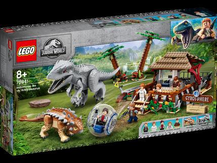 LEGO® Indominus Rex vs. Ankylosaurus 75941
