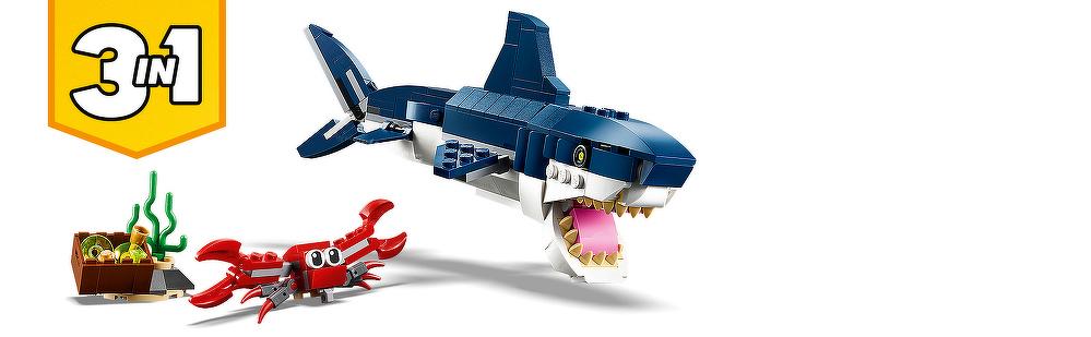LEGO® Bewohner der Tiefsee 31088