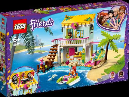 LEGO® Strandhaus mit Tretboot 41428