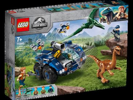 LEGO® Ausbruch von Gallimimus und Pteranodon 75940