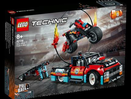 LEGO® Stunt-Show mit Truck und Motorrad 42106