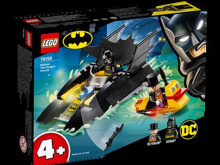 LEGO® Verfolgung des Pinguins – mit dem Batboat 76158