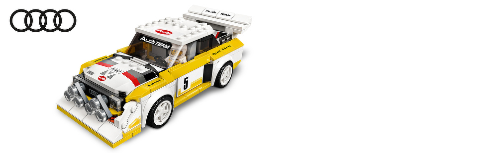 LEGO® 1985 Audi Sport quattro S1 76897