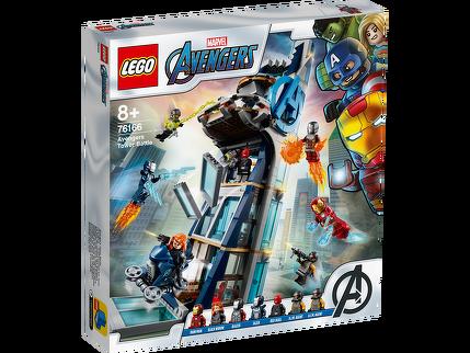 LEGO® Avengers – Kräftemessen am Turm 76166