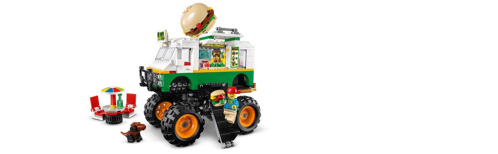 LEGO® Burger-Monster-Truck 31104