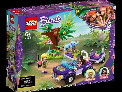 LEGO® Rettung des Elefantenbabys mit Transporter 41421