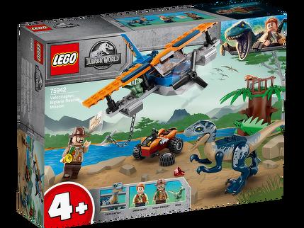 LEGO® Velociraptor: Rettungsmission mit dem Doppeldecker 75942